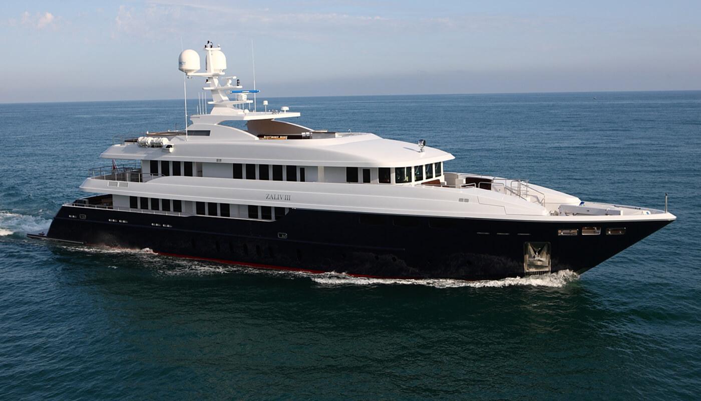 Zaliv III | Mondomarine 50,20m | 2011 | 12 guests | 6 cabins | 11 crewyacht chartering