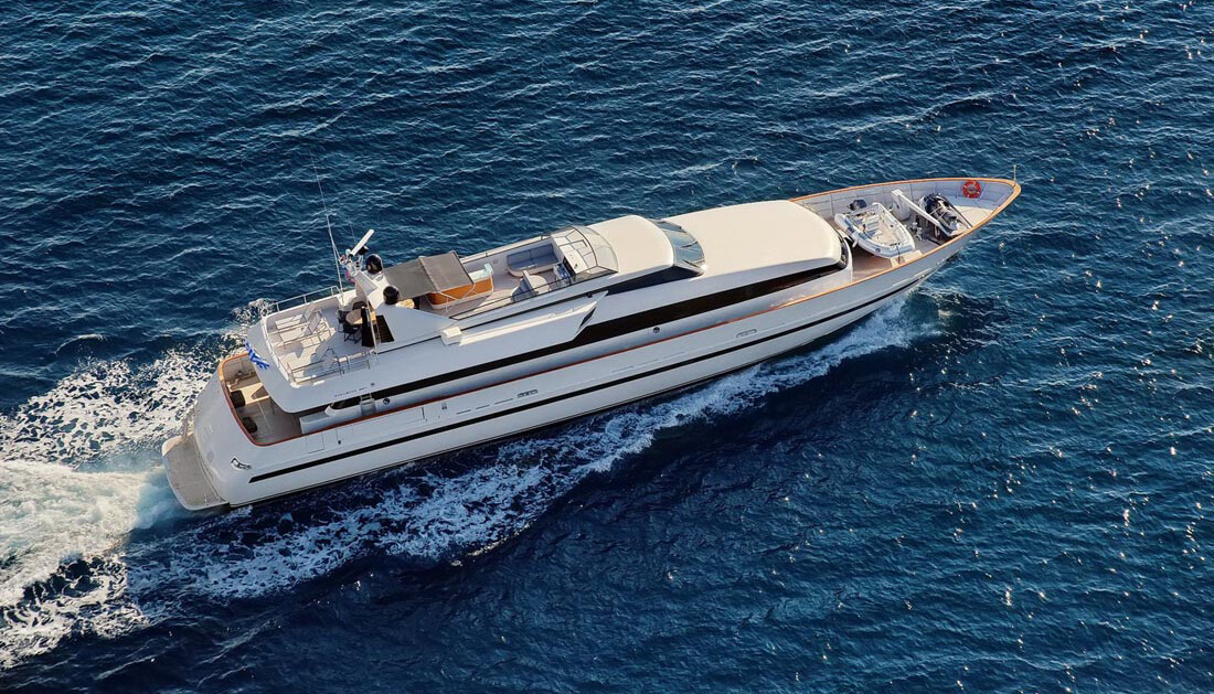 Obsesion| Baglietto 36.70m | 1989/2012 | 10 guests | 5 cabins | 7 crew