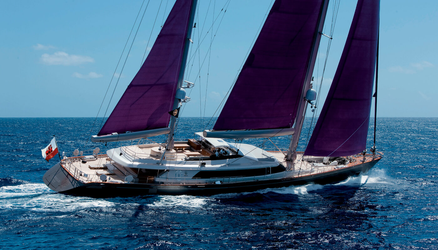 Baracuda Valletta | Perini Navi 50m | 2009 | 10 guests | 5 cabins | 9 crew