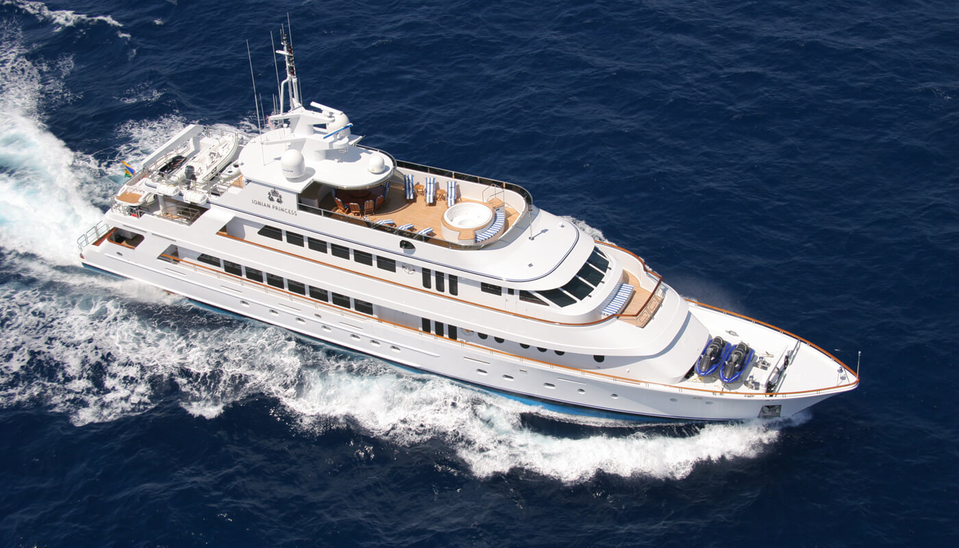 Ionian Princess | Christensen 45.73m | 2005/2016 | 12 guests | 6 cabins