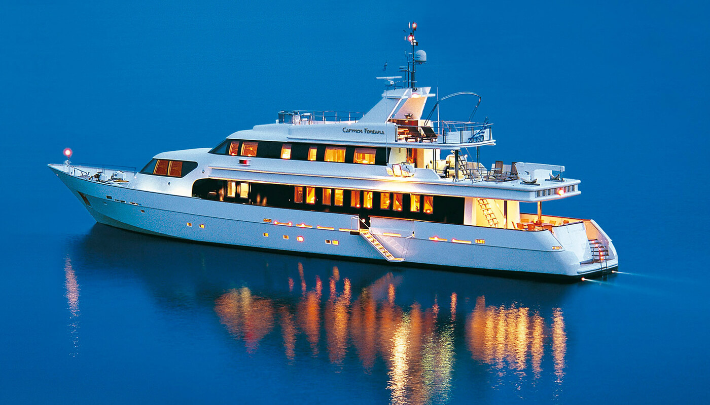 Carmen Fontana |Marine Industrial Technologies 42.60m | 1992/2004 | 10 guests | 5 cabins | 8 crew