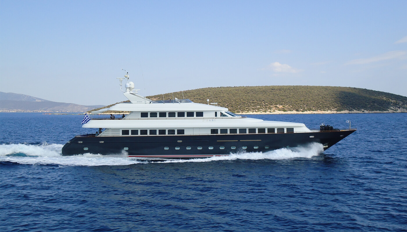 Jaan | Intermarine SPA 42m | 1997/2016 | 12 guests | 6 cabins
