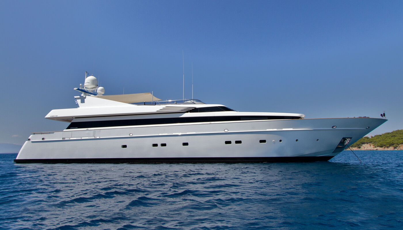 Mabrouk | Cantieri di Pisa 39.80m | 2004/2010 | 10 guests | 4 cabins