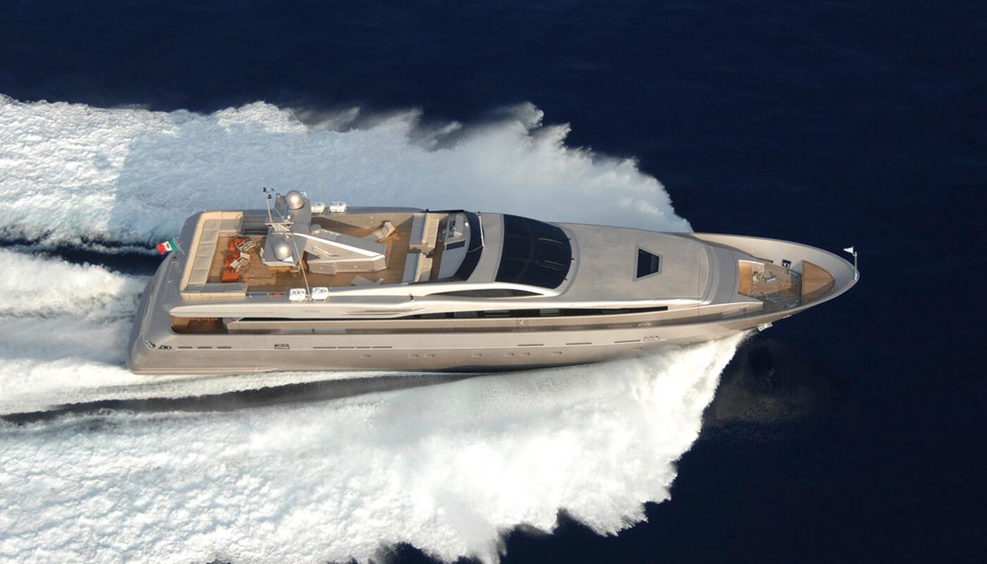 Aqua | Admiral - CNL 39.62m | 2010 | 11 guests | 5 cabinsyacht chartering