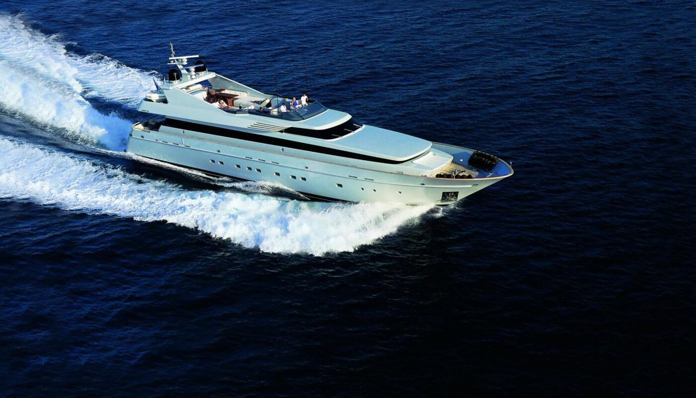 Kintaro | Cantieri Di Pisa38.10m | 2005/2014 | 12 guests | 6 cabinsyacht chartering