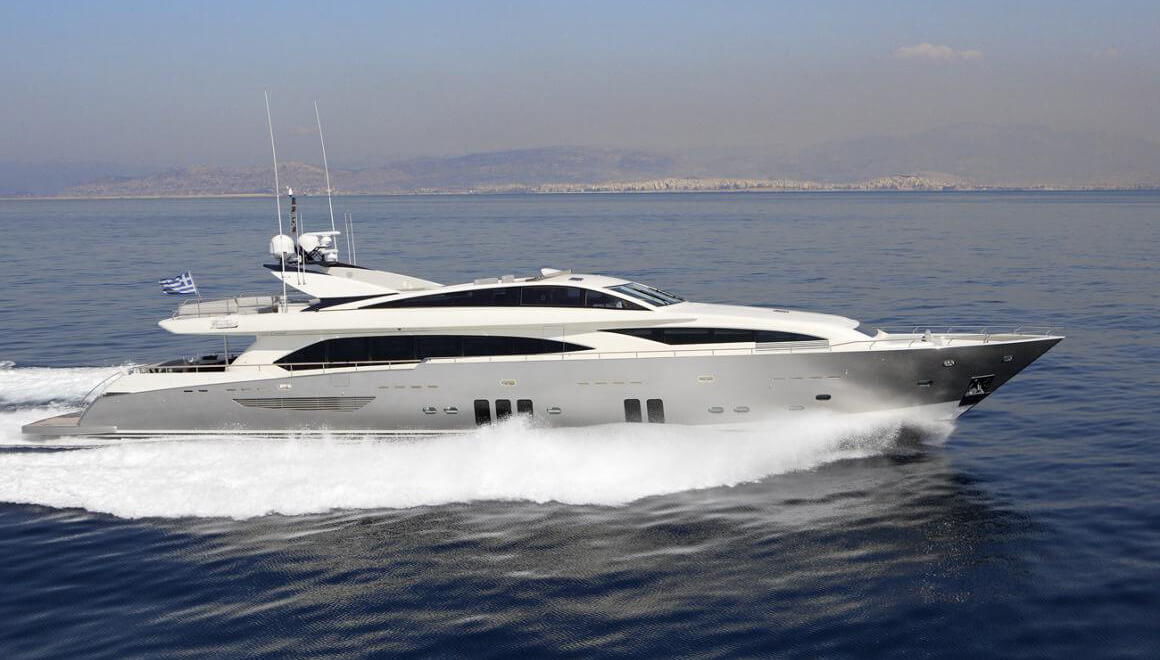 Dragon | Guy Couach 36.88m | 2010 | 12 guests | 6 cabins