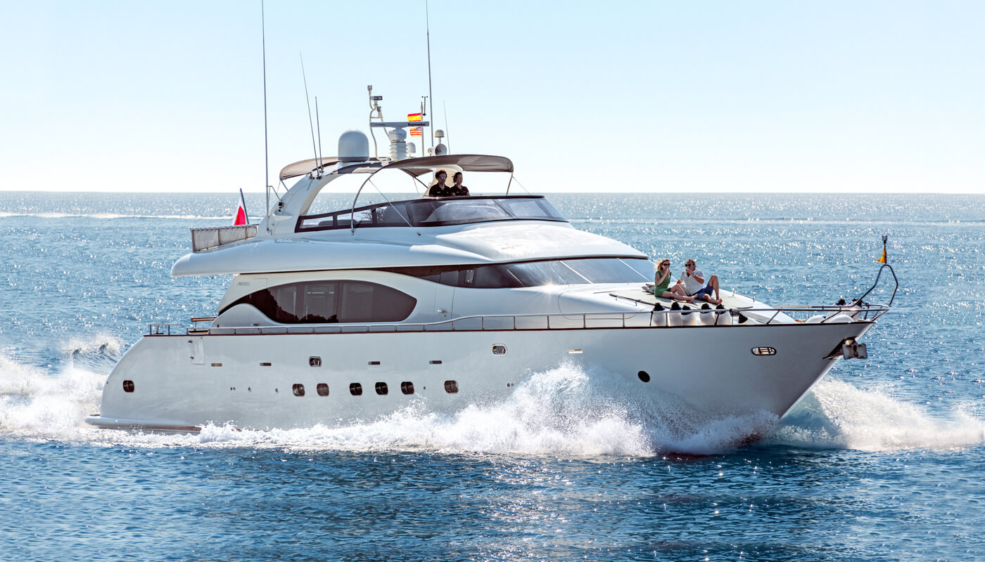 Irene's | Maiora 26.60m | 2003 | 8 guests | 4 cabins