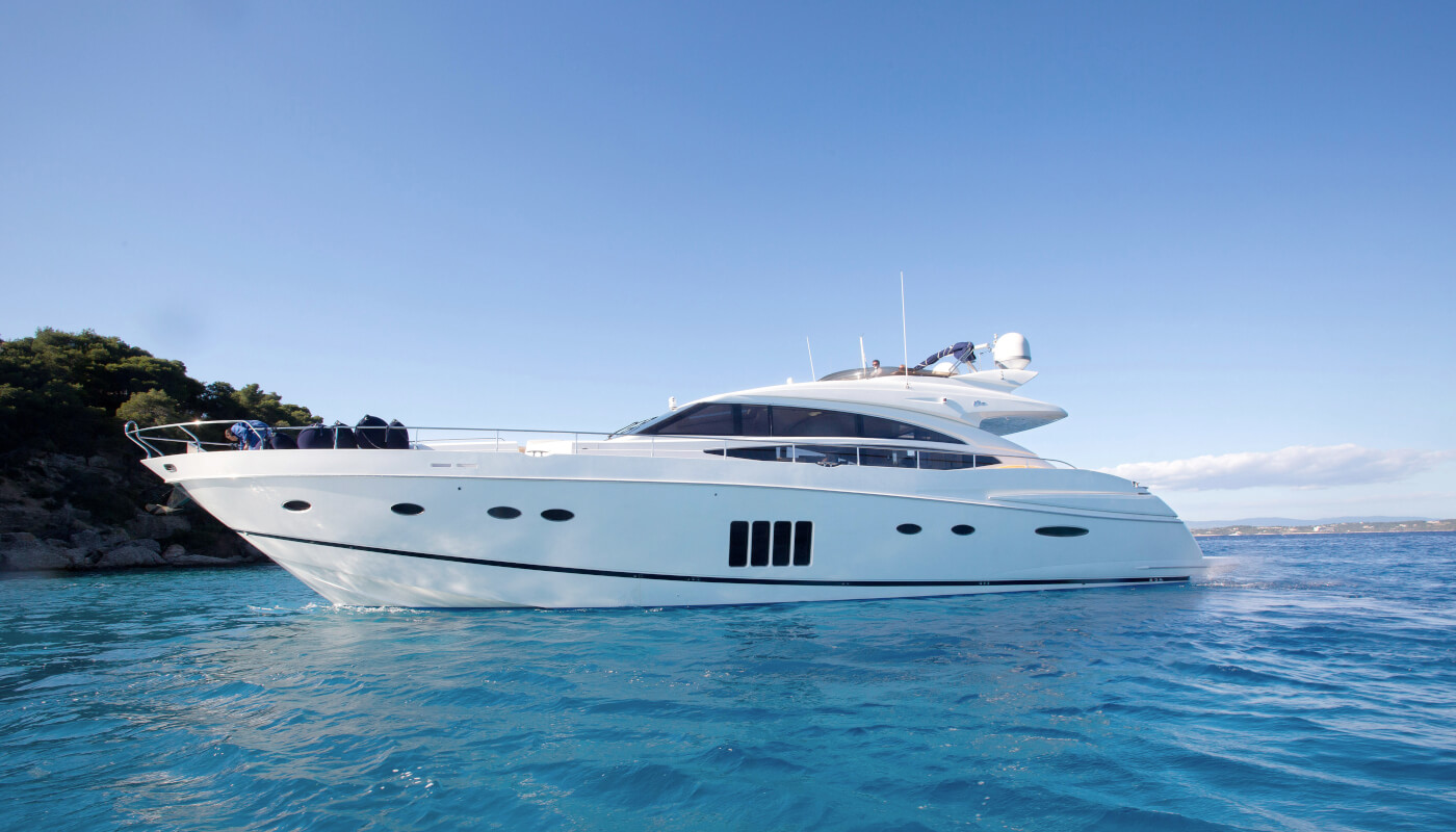 Catherine | Princess 26m | 2010 | 8 guests | 4 cabins | 4 crew