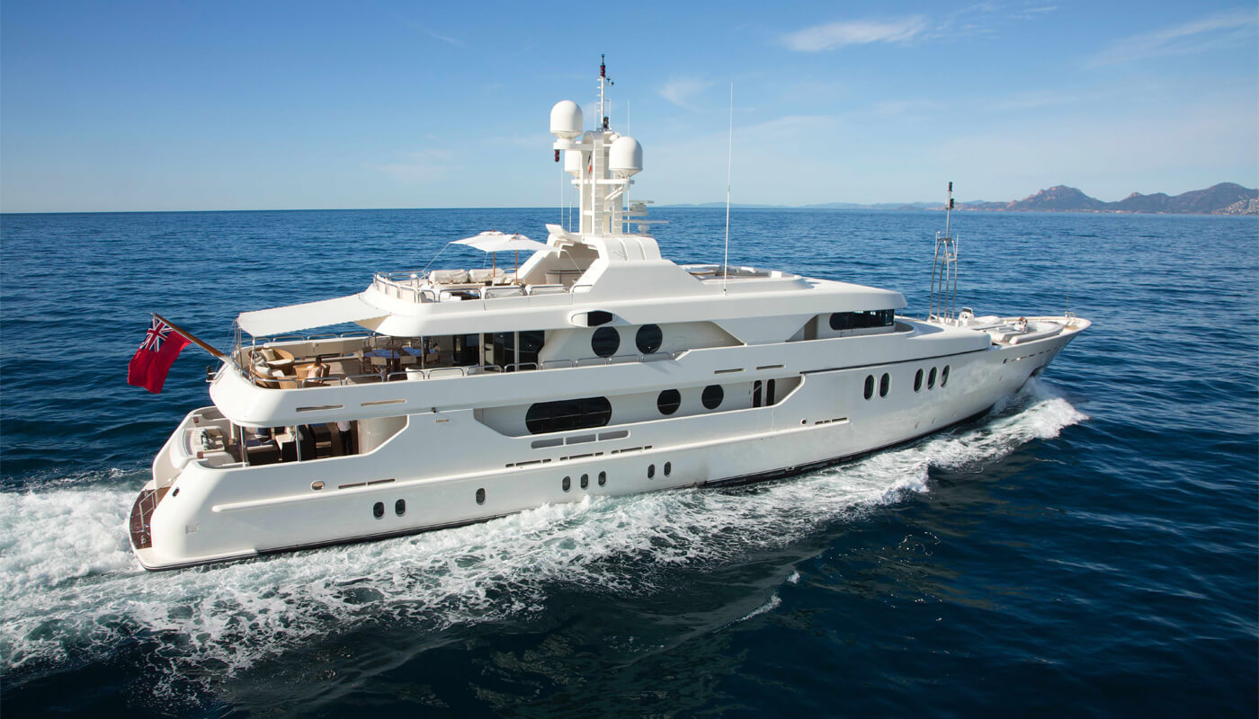Mercury | Amels 50m | 2001/2006 | 12 guests | 5 cabins | 12 crewyacht chartering